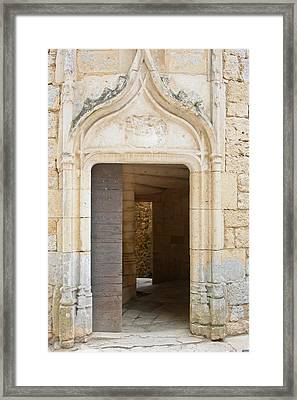 Enter The Castle Door Framed Print by Georgia Fowler