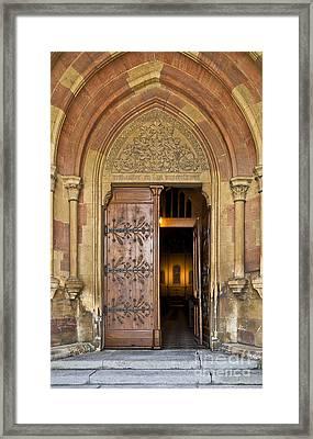 Enter The House Of God Framed Print