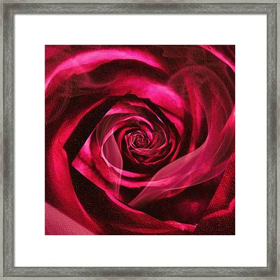 Enter The Passion Framed Print