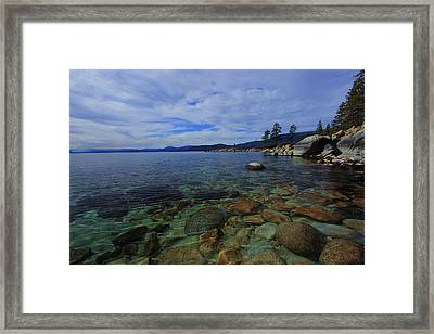Enter Willingly  Framed Print