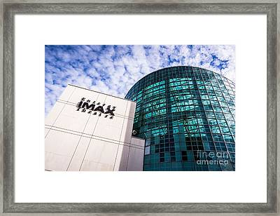Entergy Imax Theatre In New Orleans Framed Print by Paul Velgos