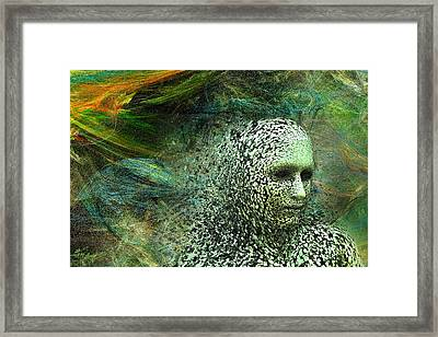 Entering A New Dimension Framed Print