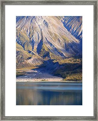 Entering Glacier Bay Alaska Framed Print