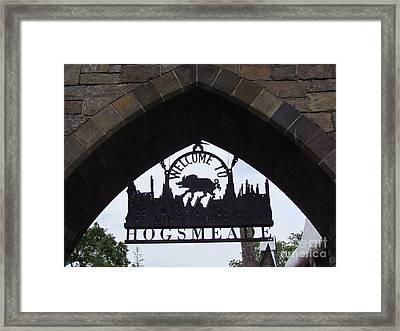 Entering Hogsmeade Framed Print