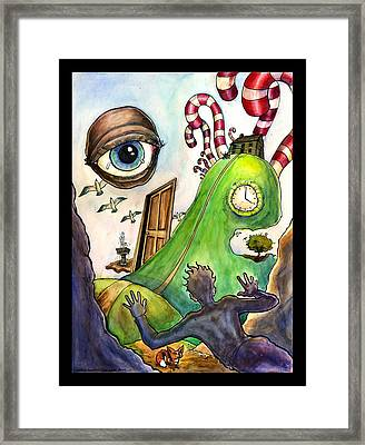 Entering The Lucid Dream Framed Print