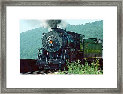 Framed Print featuring the photograph Entering The Station by Mike Flynn