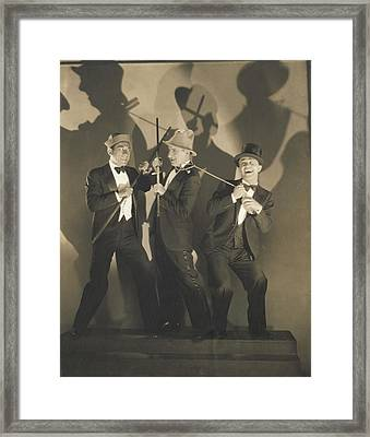 Entertainers Lou Clayton Framed Print