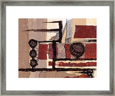 Entertaining The Clowns 1 Framed Print by Buck Buchheister