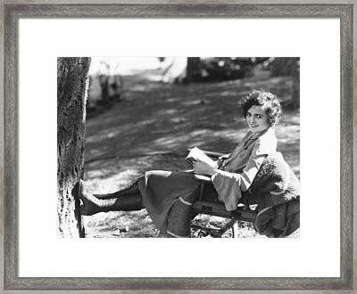 Enticement, Mary Astor, 1925 Framed Print by Everett