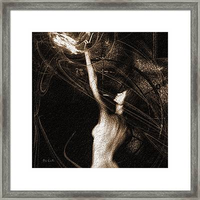 Entities Touch Framed Print
