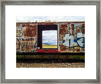 Entrance Beginning Framed Print