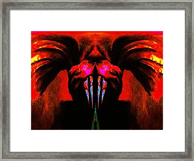 Entrance Framed Print by Bruce Iorio