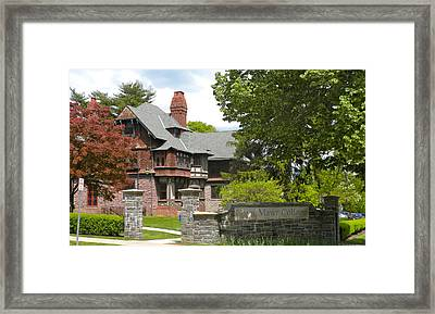 Bryn Mawr College Framed Print by Georgia Fowler