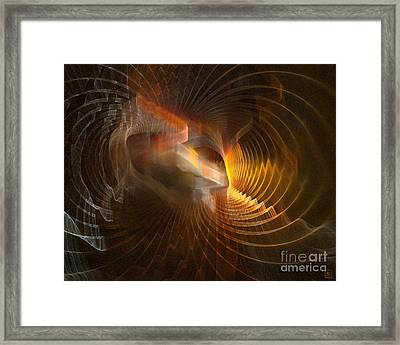 Entrance Framed Print