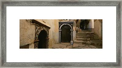Entrance Of A Building, Casaba Framed Print by Panoramic Images