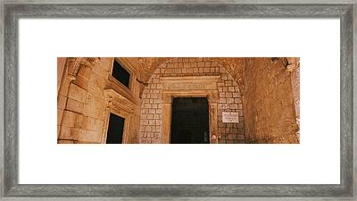 Entrance Of A Monastery, Dominican Framed Print by Panoramic Images