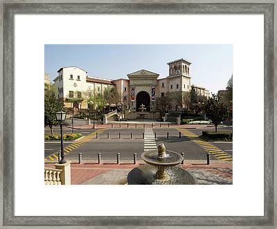 Entrance Of Montecasino, Johannesburg Framed Print by Panoramic Images
