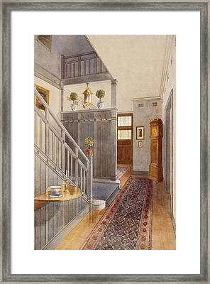 Entrance Passage Framed Print by Richard Goulburn Lovell