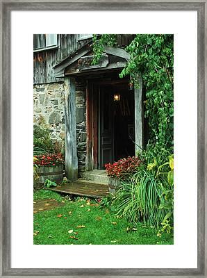 Entrance Framed Print