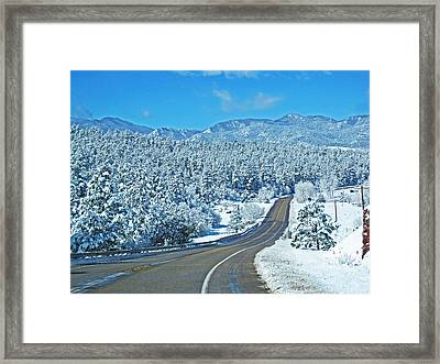 Entrance To Beulah Framed Print