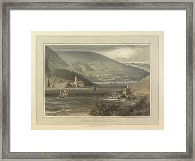 Entrance To Dartmouth Framed Print by British Library