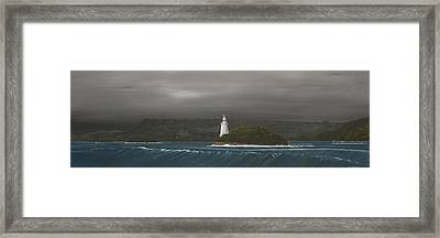 Entrance To Macquarie Harbour - Tasmania Framed Print by Tim Mullaney