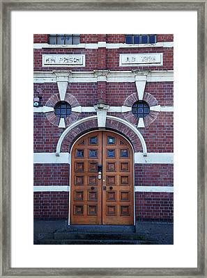 Entrance To Old Dunedin Prison (1896 Framed Print by David Wall