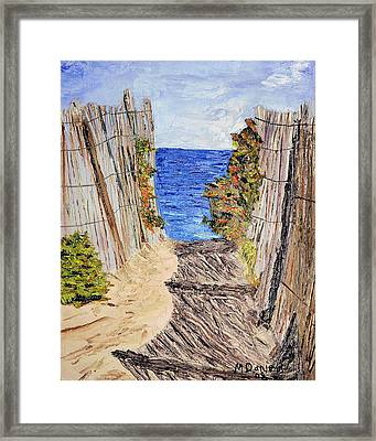 Entrance To Summer Framed Print