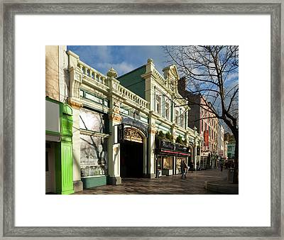 Entrance To The Indoor, English Framed Print by Panoramic Images