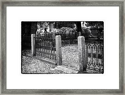 Entrance To The Other Side Framed Print