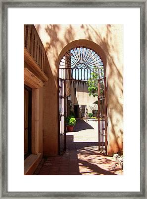 Entrances Framed Print by Ben and Raisa Gertsberg