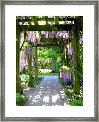 Entranceway To Fantasyland Framed Print