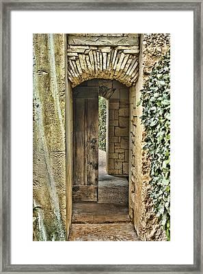 Entrancing Entrance Framed Print by Delilah Downs