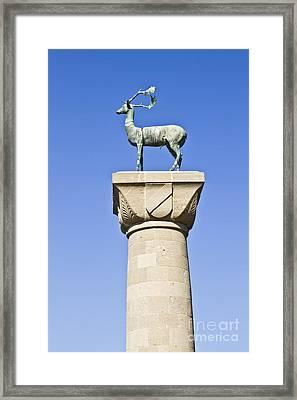 Entre Port Rhodes Framed Print by IB Photo
