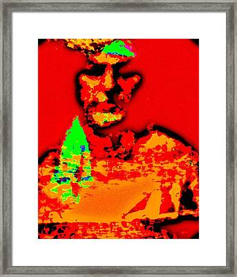 Framed Print featuring the digital art Entrepreneur by Kelly McManus
