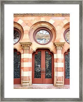 Entry Charleston Framed Print by William Dey