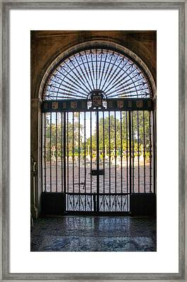 Entry To Hearst Castle - California Framed Print by Jon Berghoff