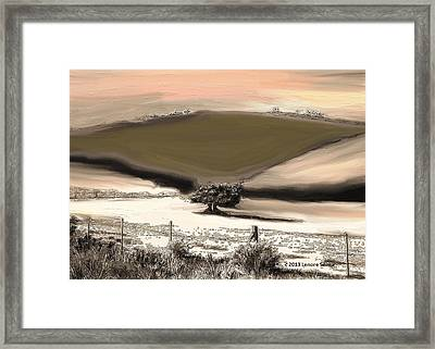 Entwined Before Winter Framed Print