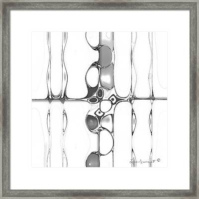 Entwined Framed Print by Leona Arsenault