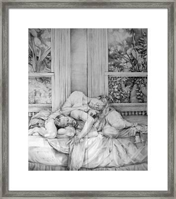 Entwined No.2 Framed Print by Julie Orsini Shakher