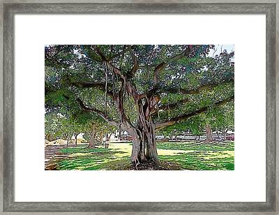 Entwined Framed Print by Terry Reynoldson
