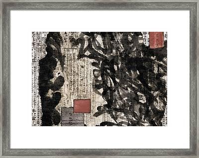 Envelope 26 27 28 Framed Print