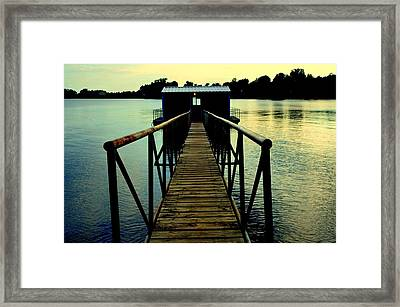 Envelopes Framed Print by Antonia Citrino