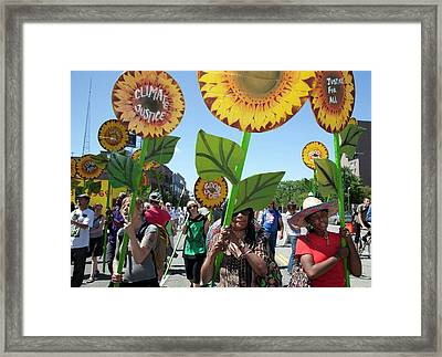 Environmental Protest Framed Print by Jim West