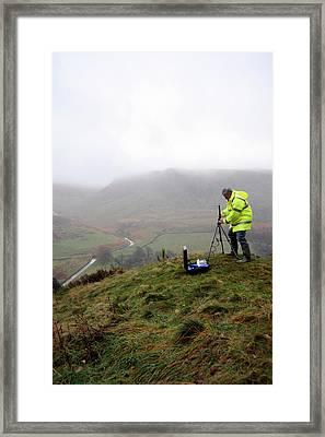 Environmental Radiation Monitoring Framed Print