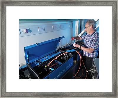 Environmental Remote Sensing System Framed Print