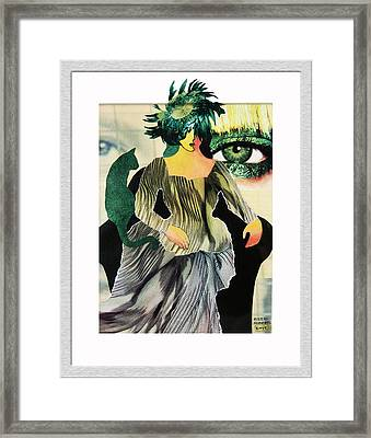 Envy Framed Print by Eve Riser Roberts