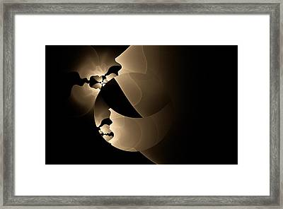 Framed Print featuring the digital art Envy by GJ Blackman