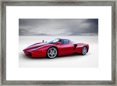 Enzo Framed Print by Douglas Pittman