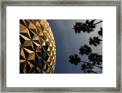 Epcot Centre Framed Print